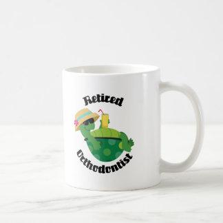 Retired Orthodontist (Turtle) Coffee Mug