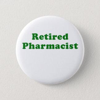 Retired Pharmacist 2 Inch Round Button