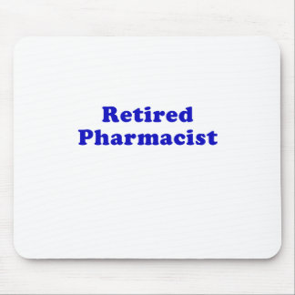 Retired Pharmacist Mouse Pad
