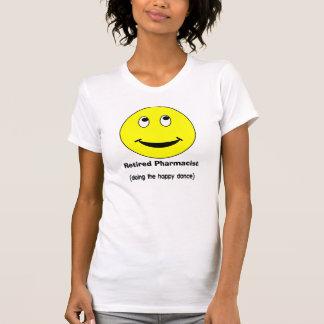 Retired Pharmacist T-Shirts Smiley II