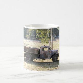 Retired Power Wagon, old pickup truck Coffee Mug
