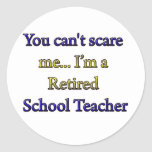 Retired School Teacher Stickers