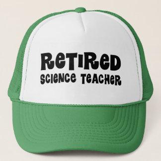 Retired Science Teacher Gift Trucker Hat
