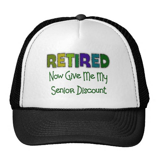 Retired SENIOR DISCOUNT Hat