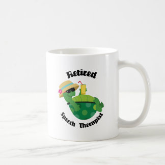 Retired Speech Therapist (Turtle) Coffee Mug