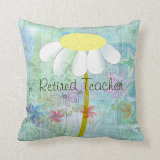 Retired Teacher Daisy Nap Pillow