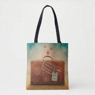 Retired Teacher, More Time to Travel Tote Bag