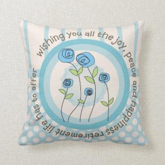 Retired Teacher Whimsical Art Pillow