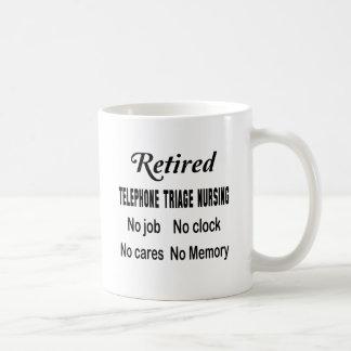 Retired Telephone triage nursing No job No clock N Coffee Mug