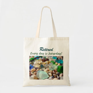 Retired Tote Bags Humor Every day is Saturday