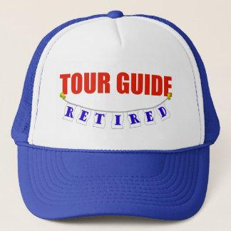 Retired Tour Guide Trucker Hat