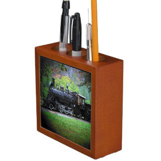 Retired Train Engine from Seattle Pencil Holder