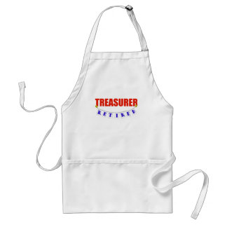 Retired Treasurer Standard Apron