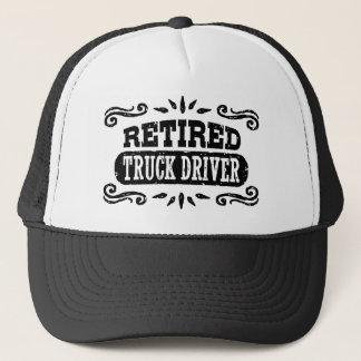 Retired Truck Driver Trucker Hat