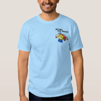 Retired Truck Drivers Embroidered Shirt