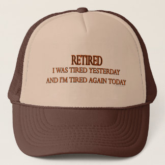 Retired Trucker Hat