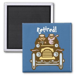 Retired: Vintage Car Magnet