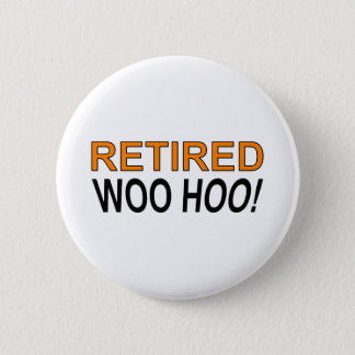 Retired Woo Hoo 2 Inch Round Button