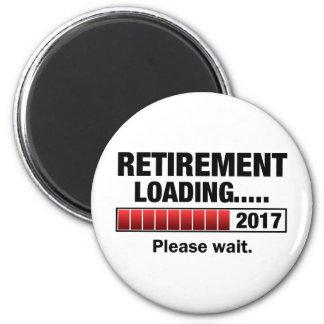 Retirement 2017 Loading Magnet