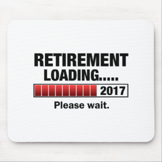 Retirement 2017 Loading Mouse Pad