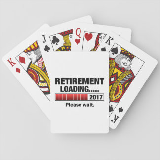 Retirement 2017 Loading Playing Cards