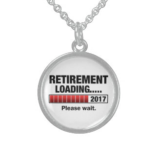 Retirement 2017 Loading Sterling Silver Necklace