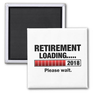 Retirement 2018 Loading Magnet