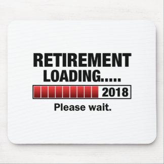 Retirement 2018 Loading Mouse Pad