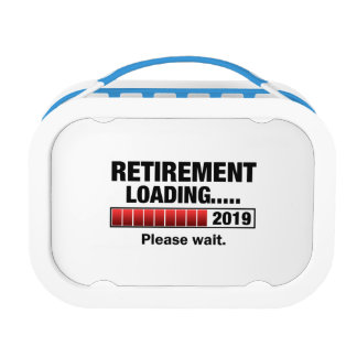 Retirement 2019 Loading Lunch Box