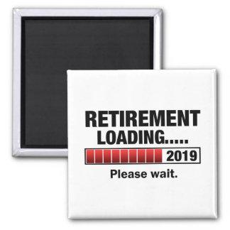 Retirement 2019 Loading Magnet