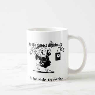 Retirement and Graduate mug