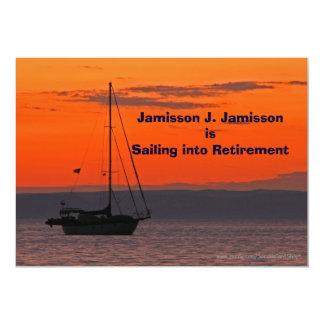 Retirement Announcement Sailing into retirement