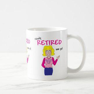 Retirement Basic White Mug