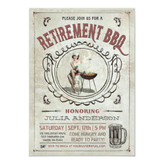 Retirement BBQ Invitations v.2
