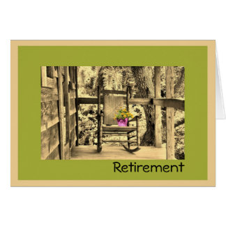 Retirement Card with Rocking Chair