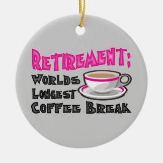 Retirement Ceramic Ornament