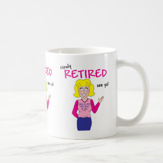Retirement Classic White Coffee Mug