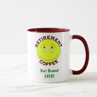 Retirement Coffee Mug: best brewed EVER! - Mug
