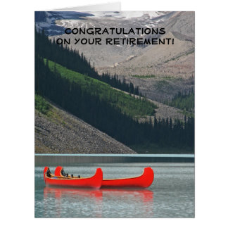 Retirement Congratulations from All of Us, JUMBO Card
