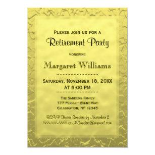 Golden Ticket Invitations Announcements
