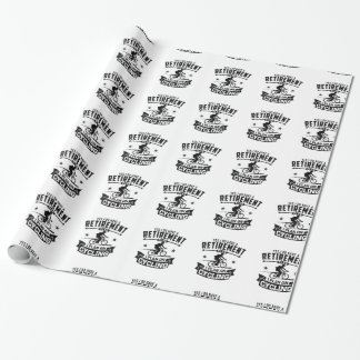 Retirement Plan cycling Wrapping Paper