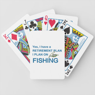 RETIREMENT PLAN - FISHING POKER DECK