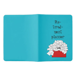Retirement planner extra large moleskine notebook
