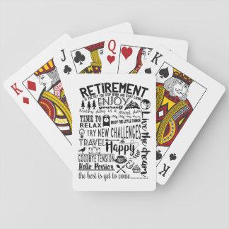 Retirement Poker Deck
