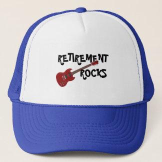 RETIREMENT ROCKS TRUCKER HAT
