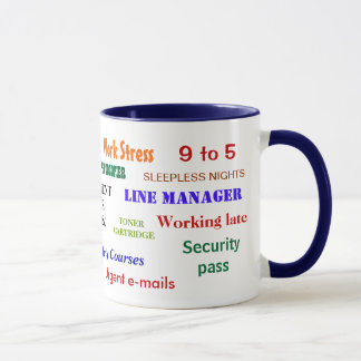 Retirement Swear Words Annoying Joke Classic Mug