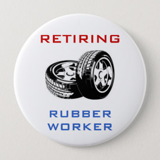 Retiring Rubber Worker Pin