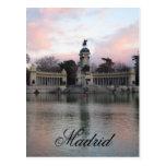 Retiro Park, Madrid, Spain Post Card