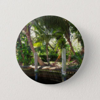 Retreat on Ft Lauderdale's New River 2 Inch Round Button