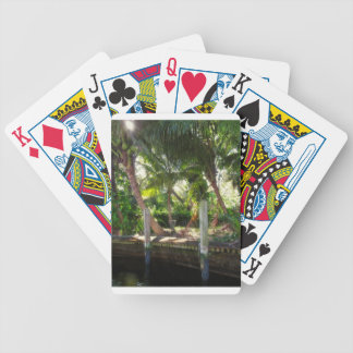 Retreat on Ft Lauderdale's New River Bicycle Playing Cards